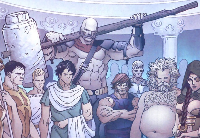 Ajax (Greek Legend) (Earth-616)