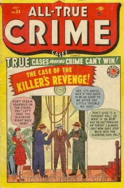 All True Crime Cases Comics Vol 1 34