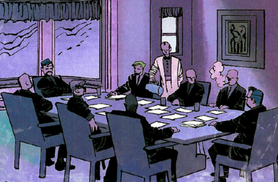 Bilderberg Conference (Earth-616) from Black Panther Vol 4 3 0001.png