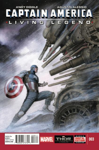 Captain America: Living Legend Vol 1 3
