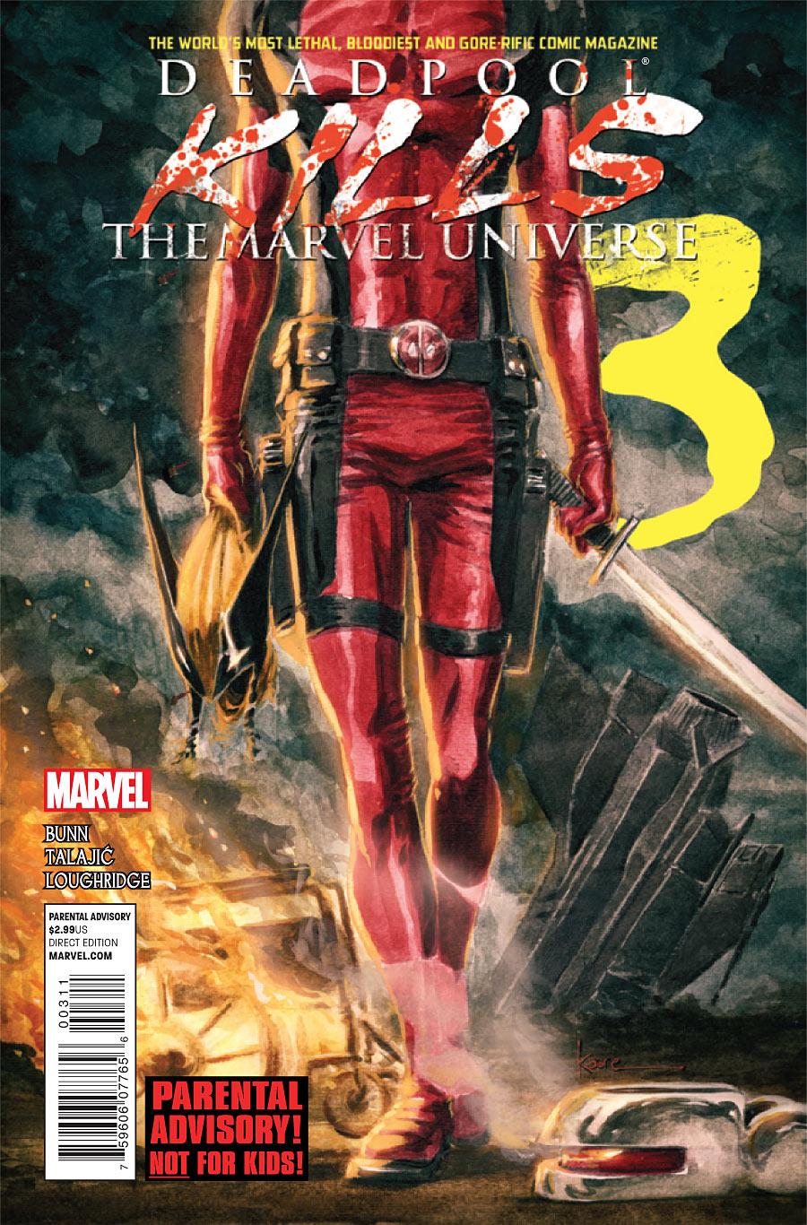 Deadpool Kills the Marvel Universe Vol 1 3
