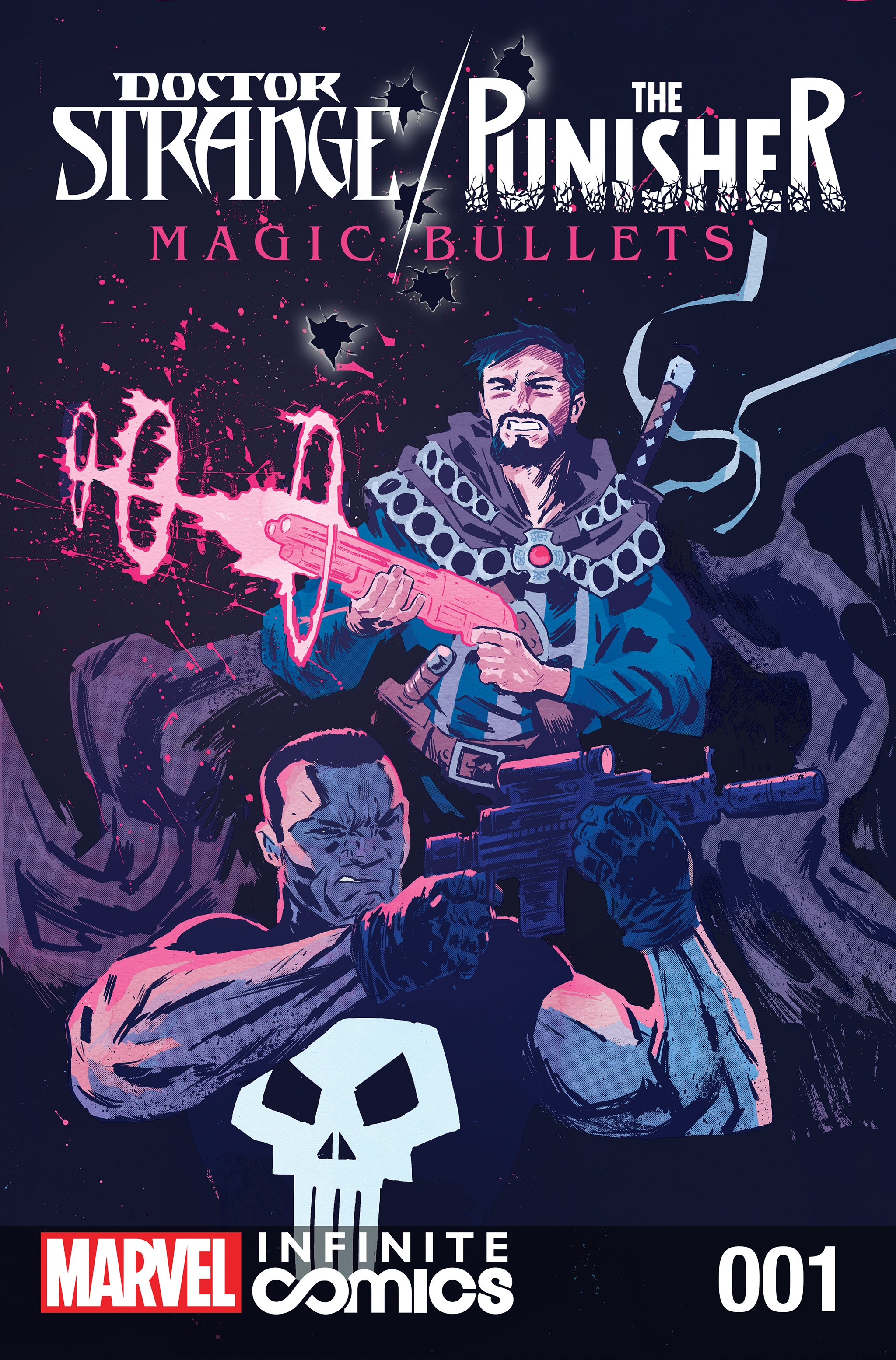 Doctor Strange / Punisher: Magic Bullets Infinite Comic Vol 1 1
