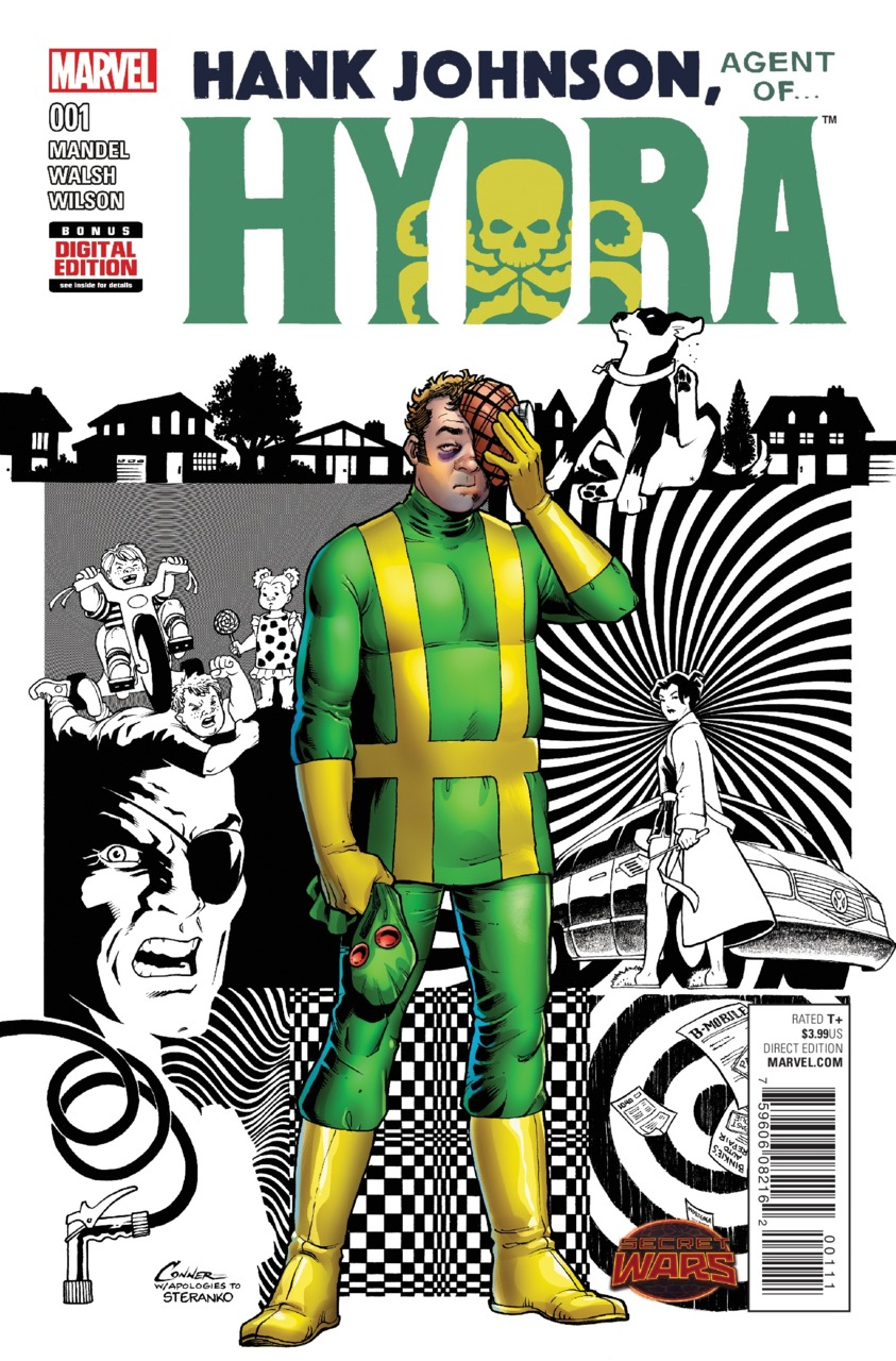 Hank Johnson, Agent of Hydra Vol 1 1