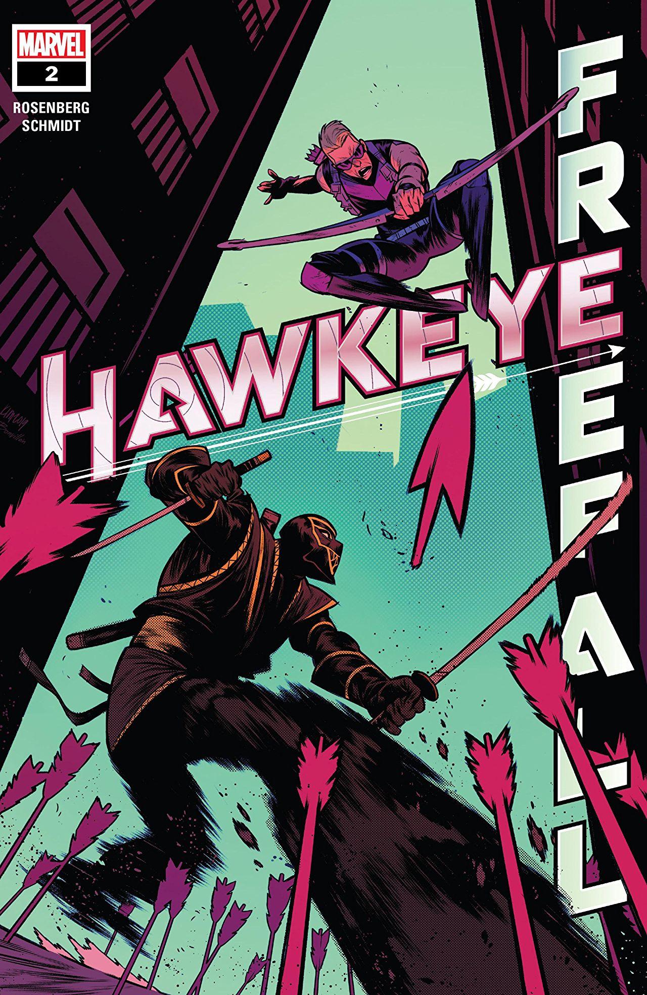 Hawkeye: Freefall Vol 1 2