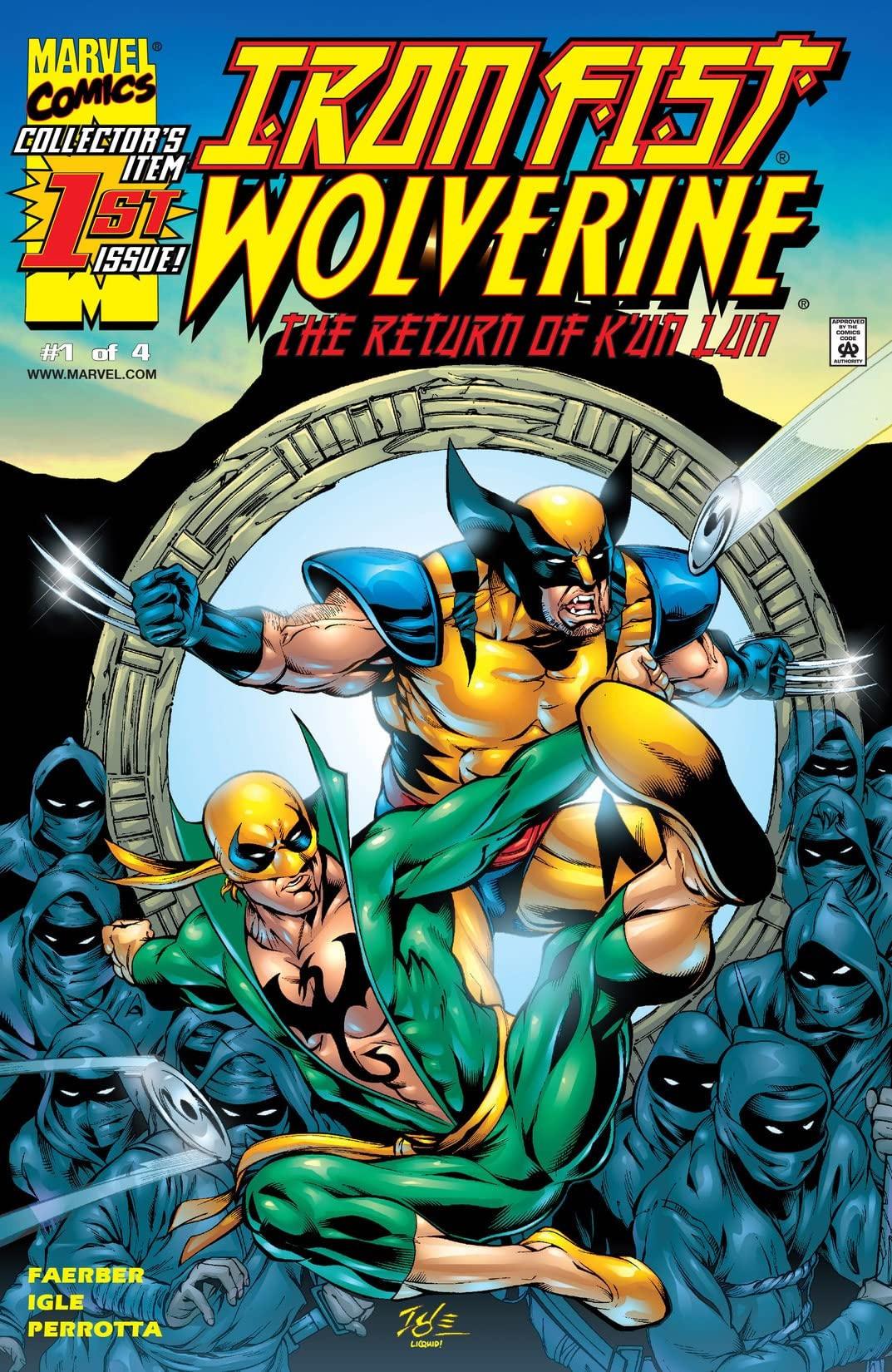 Iron Fist: Wolverine Vol 1 1