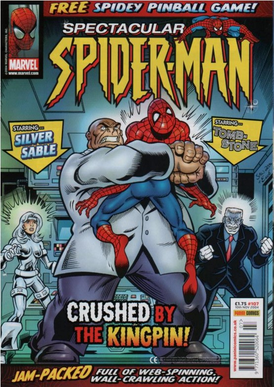Spectacular Spider-Man (UK) Vol 1 107