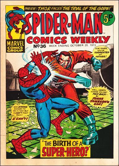 Spider-Man Comics Weekly Vol 1 36