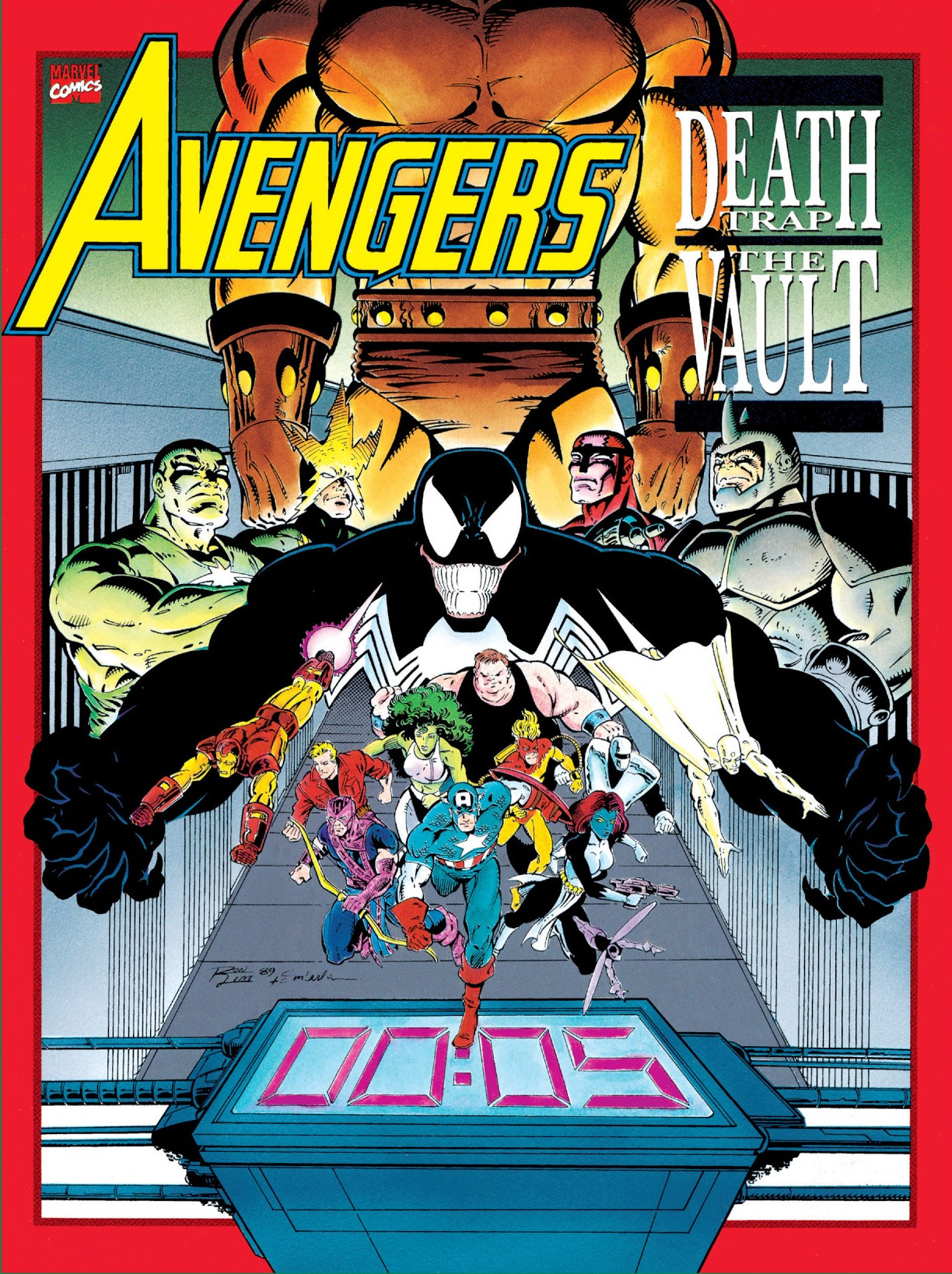 Avengers: Death Trap, The Vault Vol 1 1