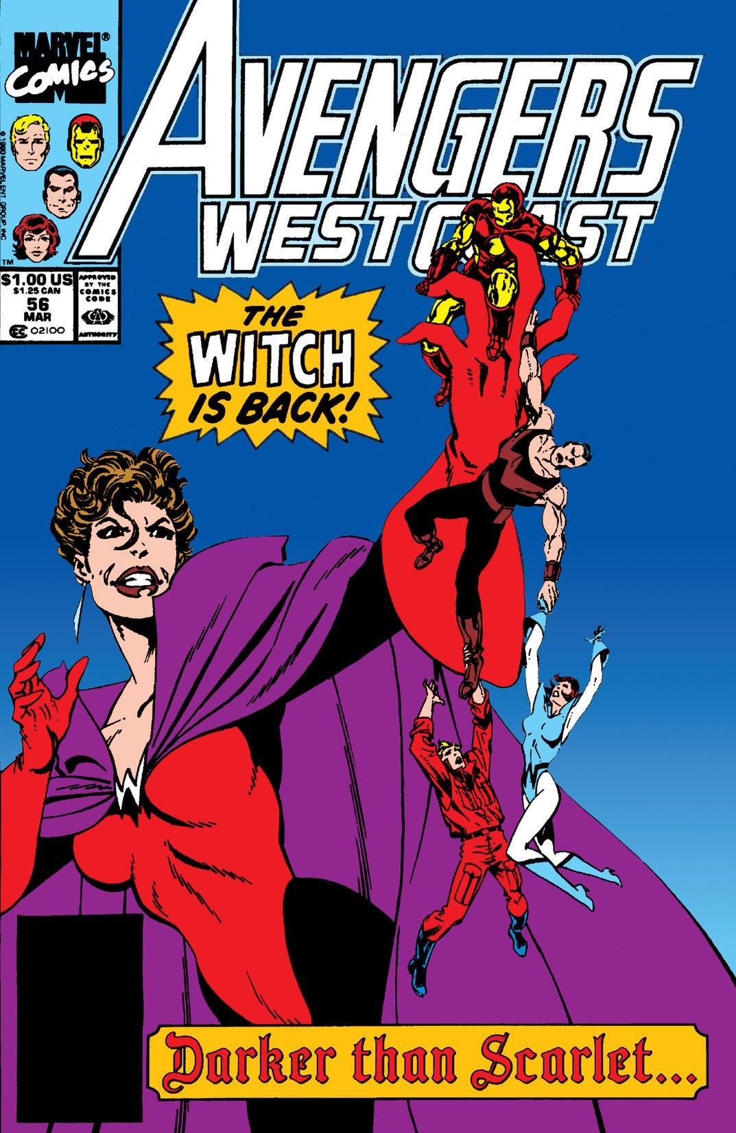 Avengers West Coast Vol 2 56