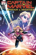 Captain Marvel Braver & Mightier Vol 1 1