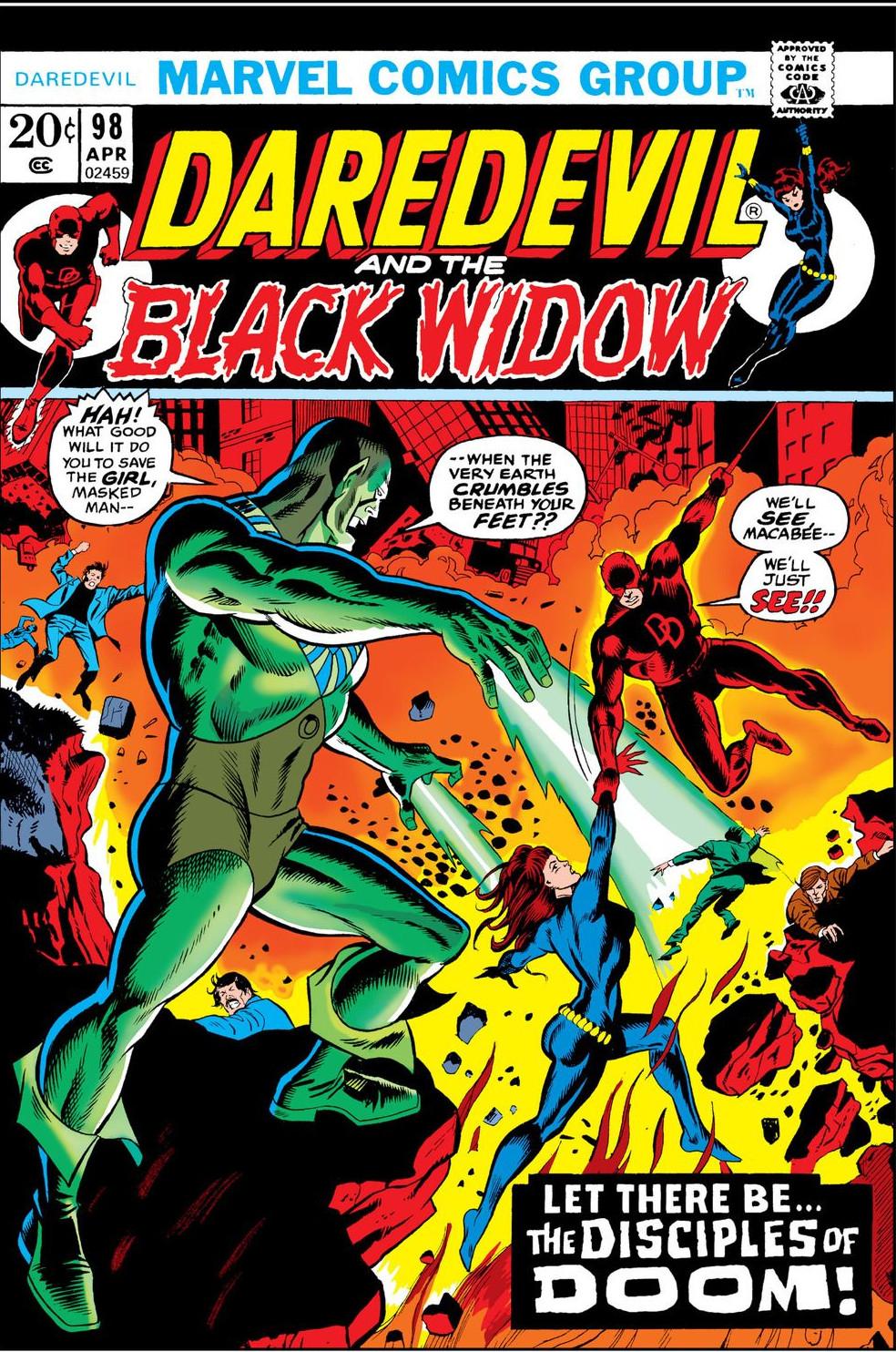 Daredevil Vol 1 98