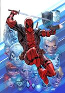 Despicable Deadpool Vol 1 300 Liefeld Variant Textless