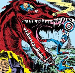 Dragon of Death from Captain America Comics Vol 1 5 001.jpg