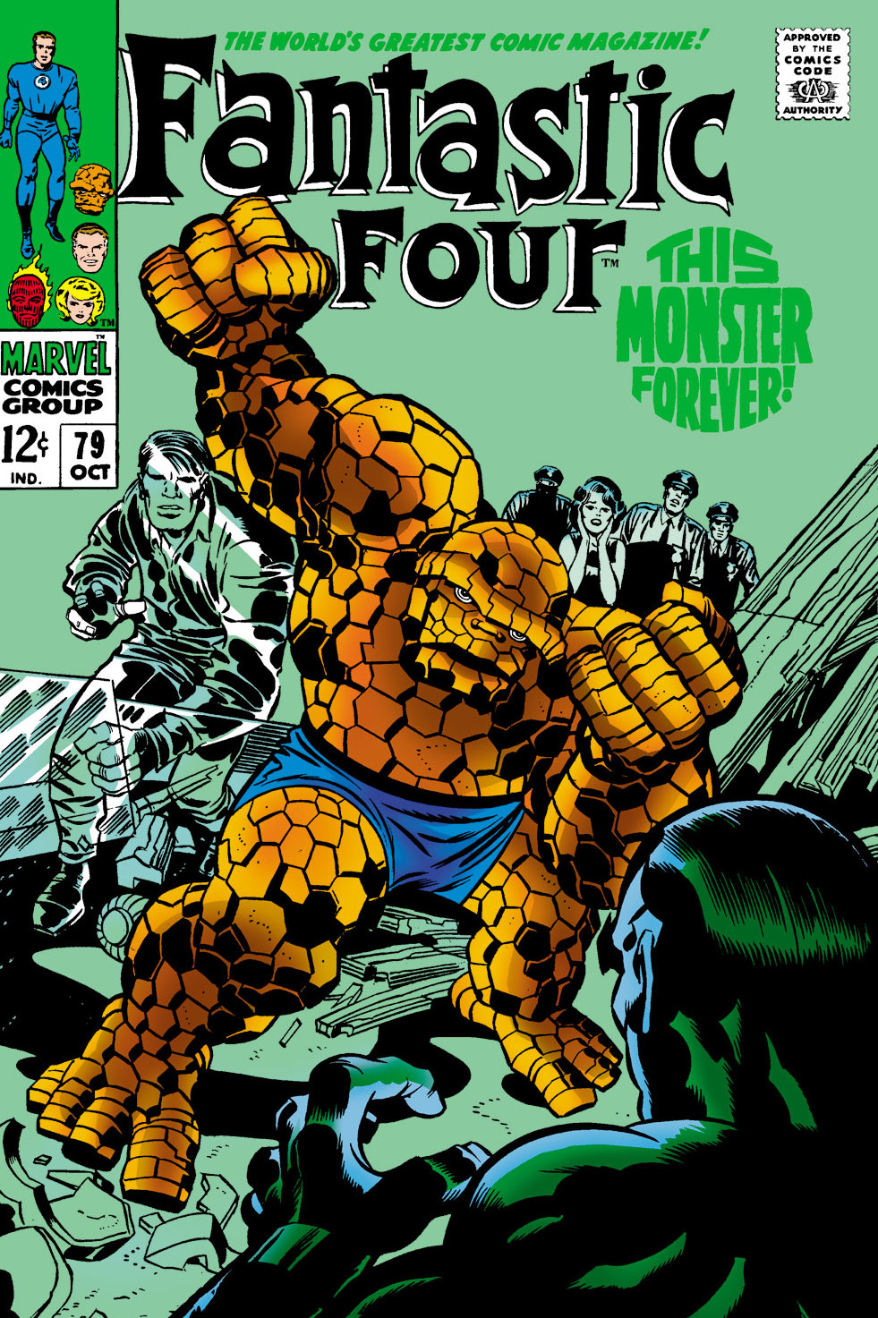 Fantastic Four Vol 1 79