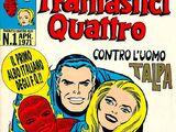 Comics:Fantastici Quattro (Corno) Vol 1 1