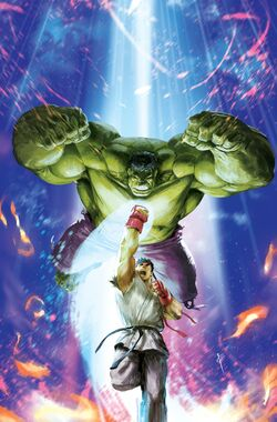 Generations Banner Hulk & The Totally Awesome Hulk Vol 1 1 Marvel vs. Capcom Variant Textless.jpg