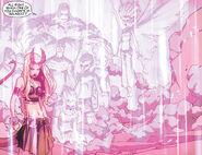 Illyana Rasputina (Earth-616) and Xavier Institute student body from New X-Men Vol 2 41 0001