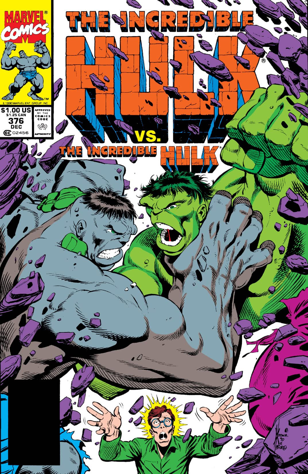 Incredible Hulk Vol 1 376