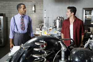 Jason Wilkes (Earth-199999) and Howard Stark (Earth-199999) from Marvel's Agent Carter Season 2 3 001.jpg