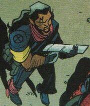 Lucas Bishop (Project Doppelganger LMD) (Earth-18236) from Spider-Man Deadpool Vol 1 34 001.jpg