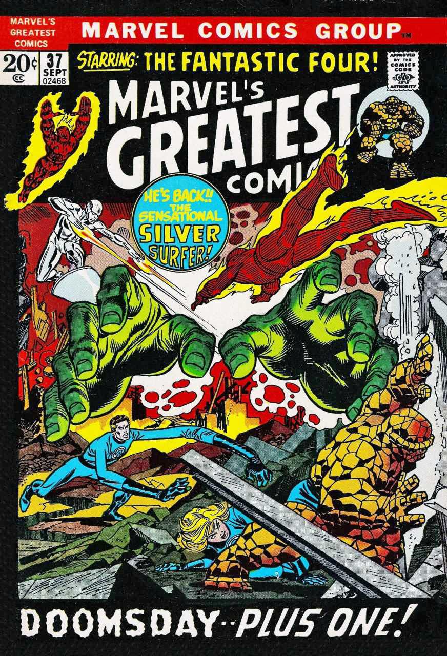 Marvel's Greatest Comics Vol 1 37