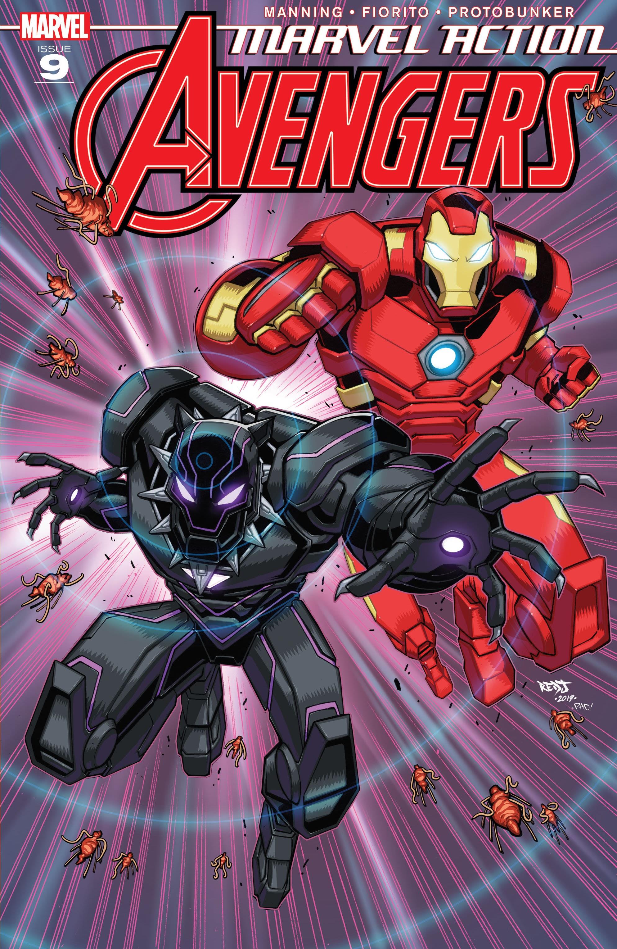Marvel Action: Avengers Vol 1 9