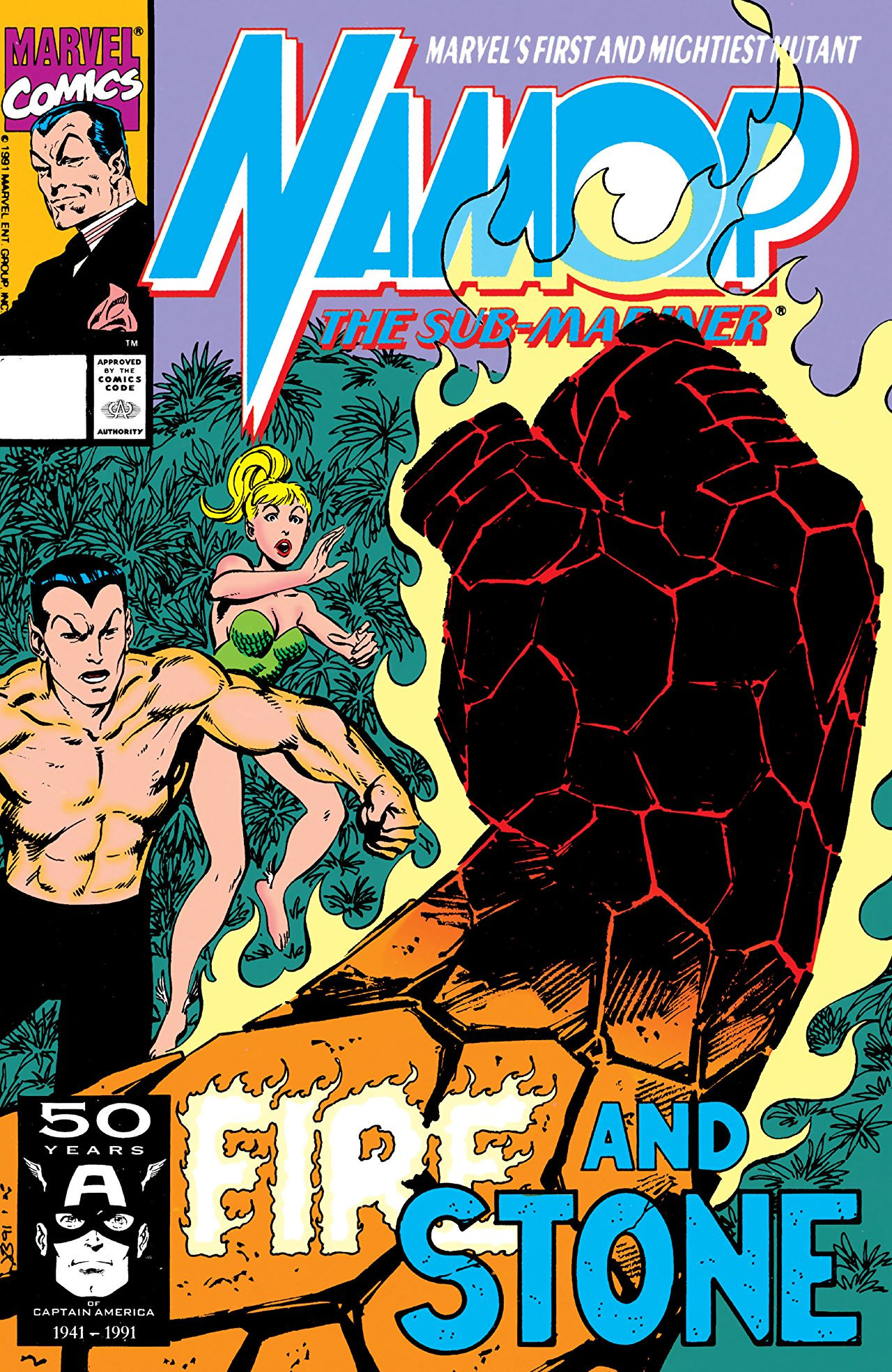 Namor the Sub-Mariner Vol 1 17