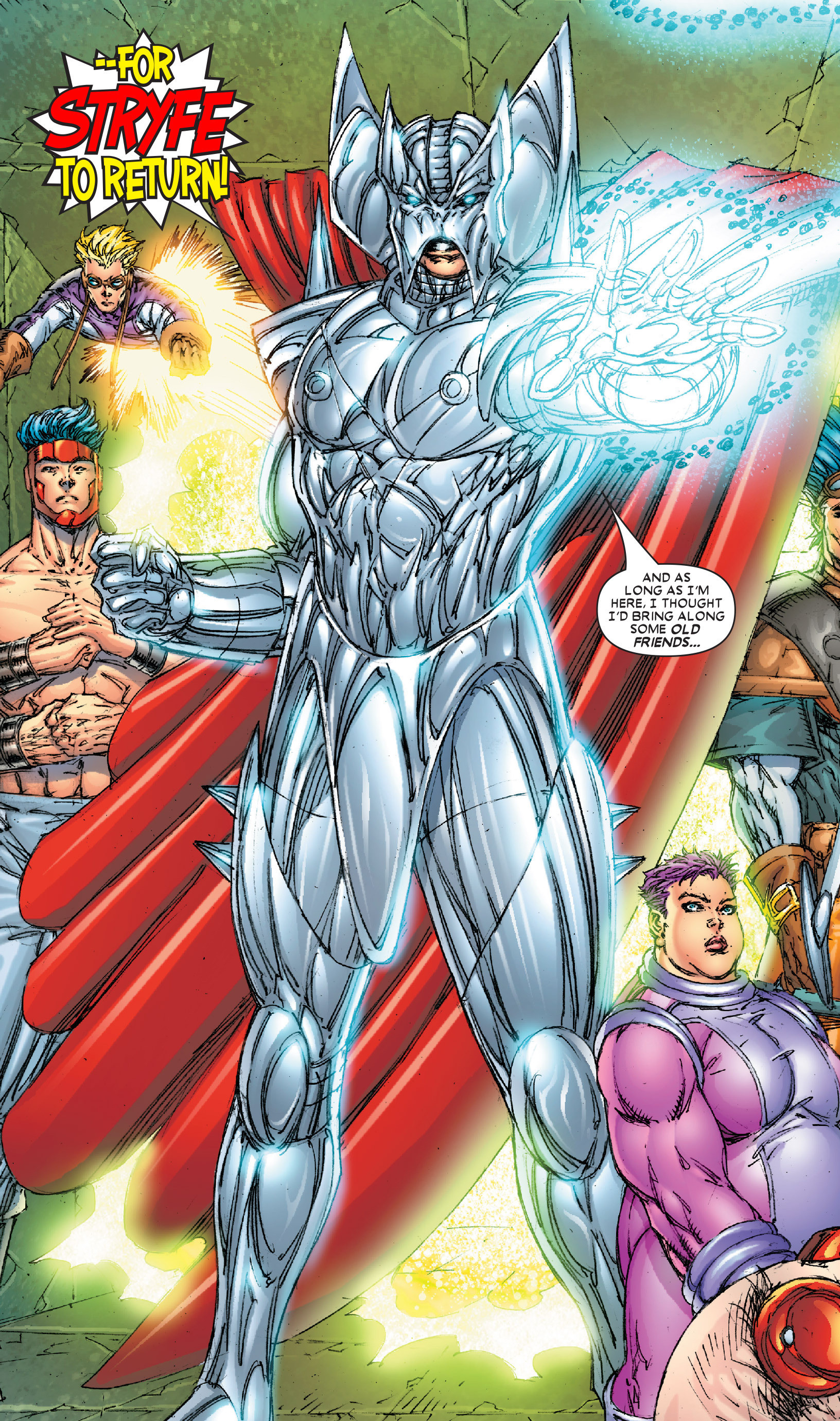 Mutant Liberation Front (Earth-616)/Gallery