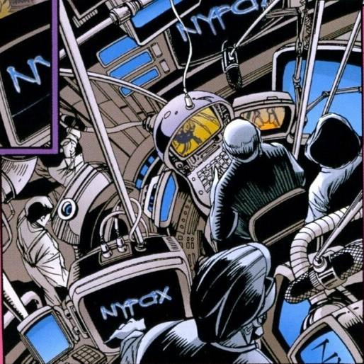 NyFax (Earth-928)/Gallery