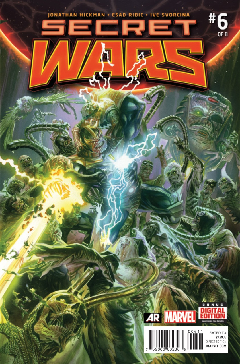 Secret Wars Vol 1 6