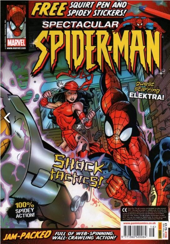 Spectacular Spider-Man (UK) Vol 1 116