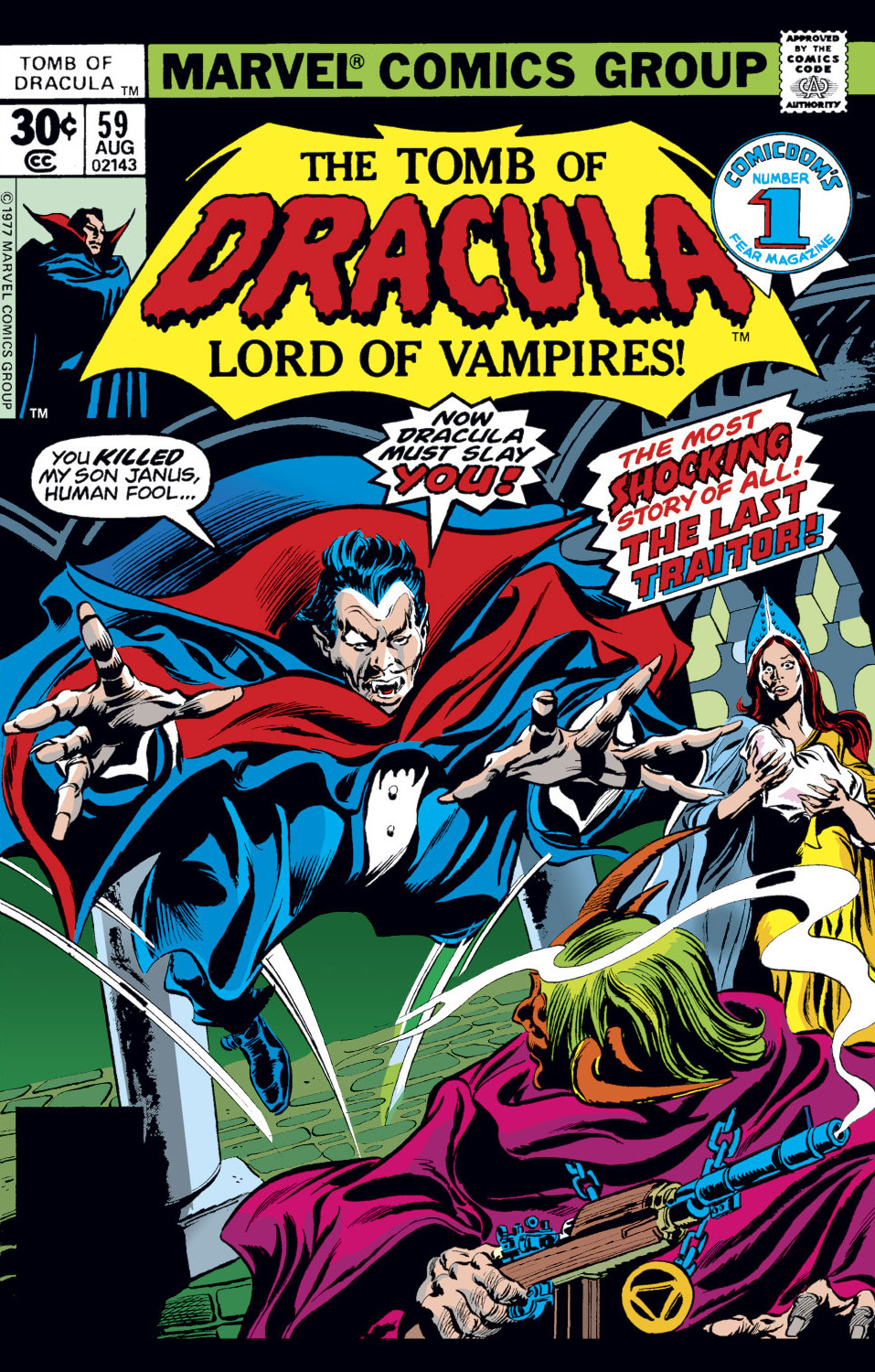 Tomb of Dracula Vol 1 59