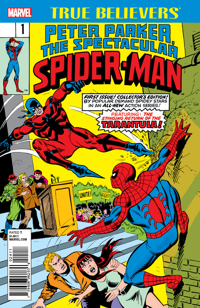 True Believers: Peter Parker, The Spectacular Spider-Man Vol 1 1