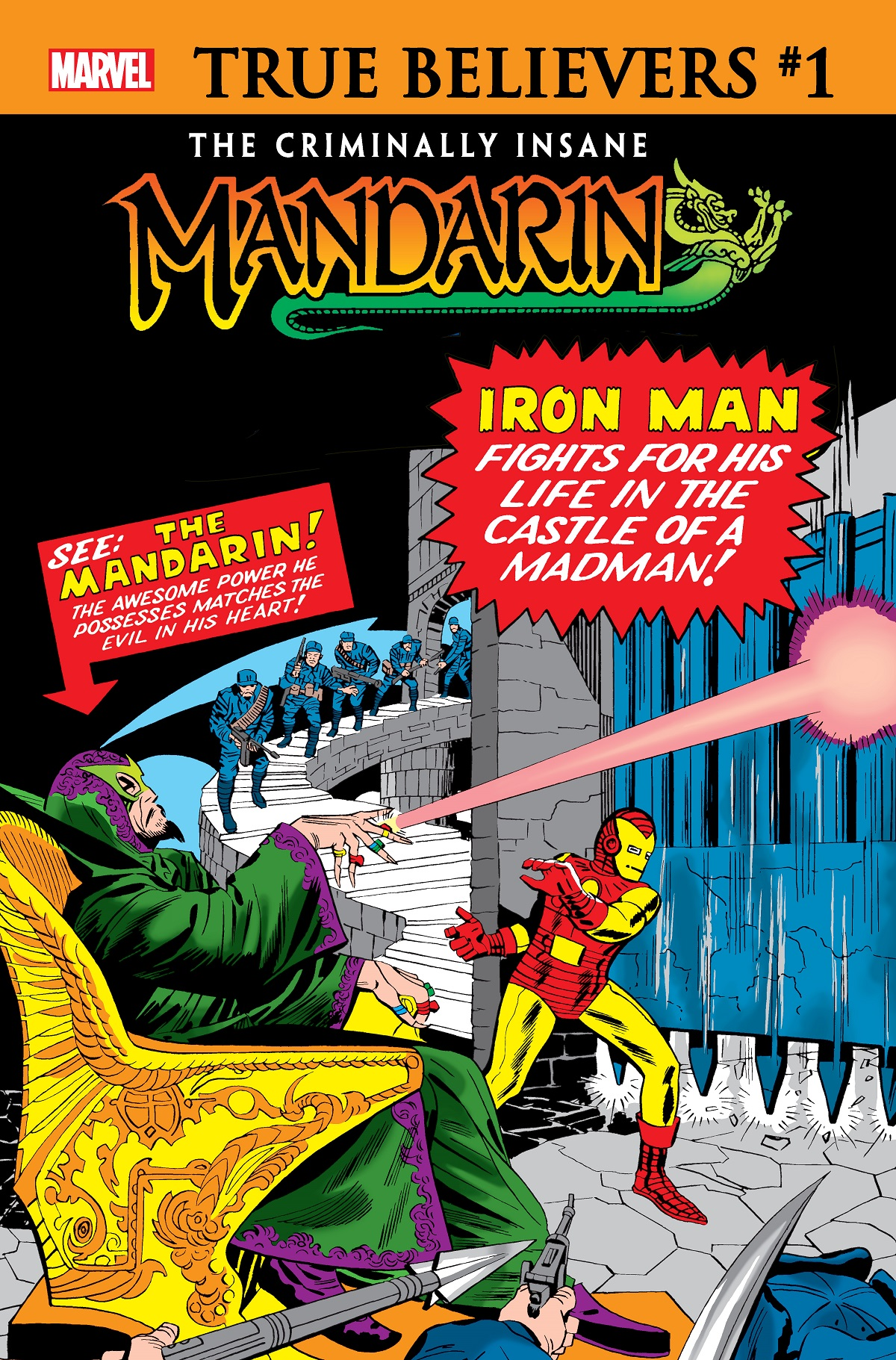 True Believers: The Criminally Insane - Mandarin Vol 1 1