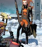 Wade Wilson (Earth-616) and Elsa Bloodstone (Earth-616) from Deadpool Vol 8 1 0001