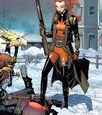 Wade Wilson (Earth-616) and Elsa Bloodstone (Earth-616) from Deadpool Vol 8 1 0001.jpg