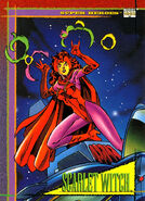 Wanda Maximoff (Earth-616) from Marvel Universe Cards Series IV 0001