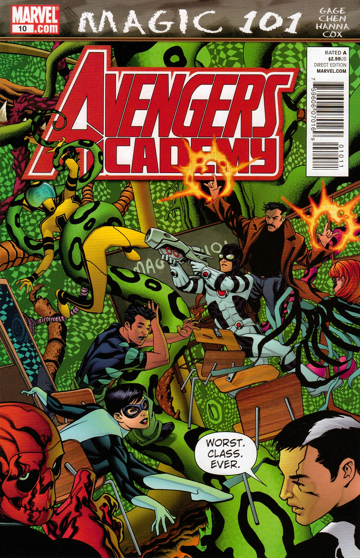Avengers Academy Vol 1 10