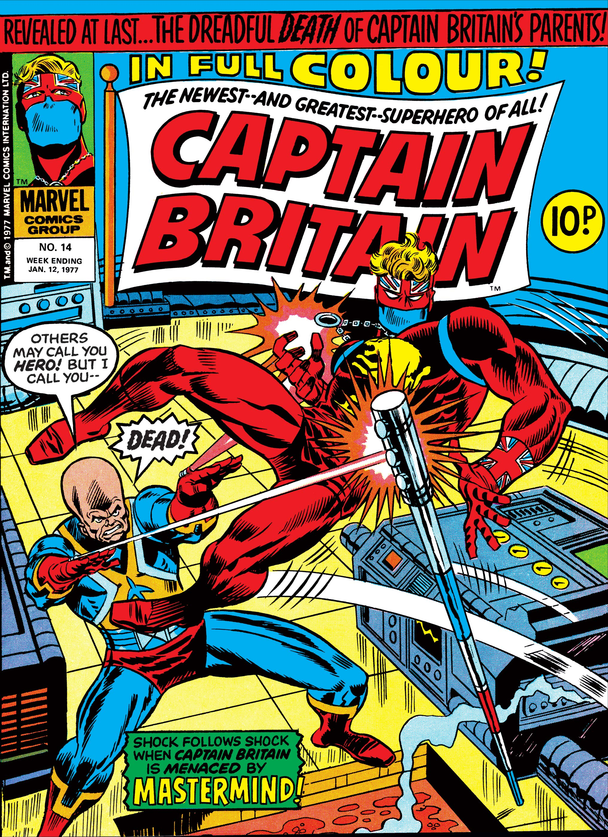 Captain Britain Vol 1 14