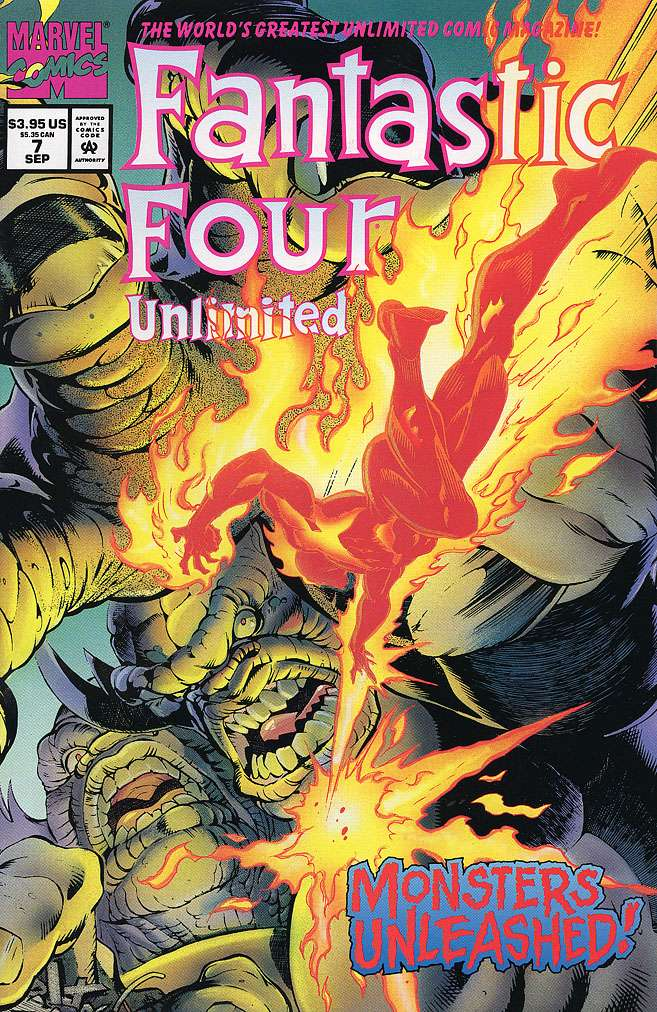 Fantastic Four Unlimited Vol 1 7
