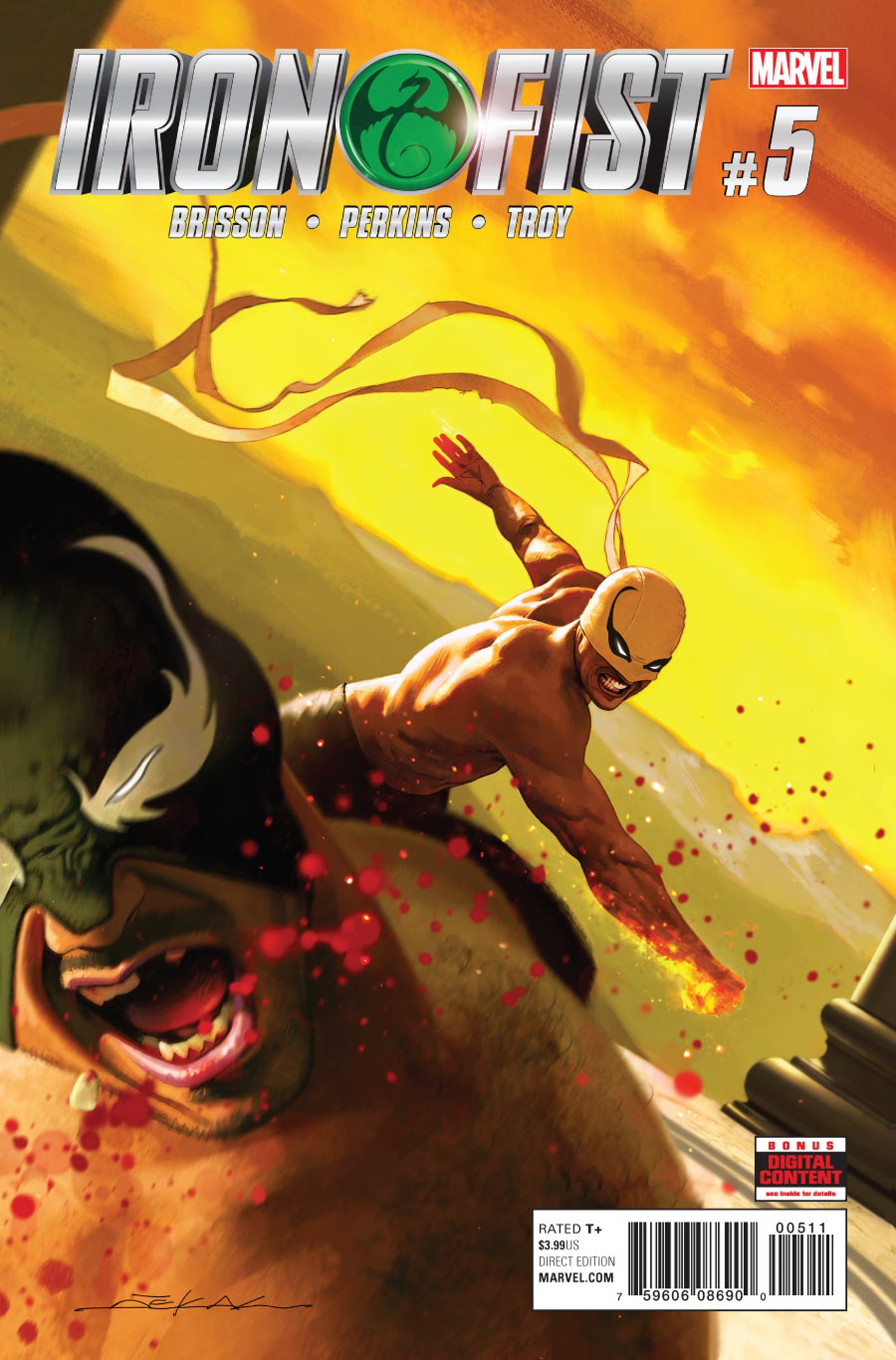Iron Fist Vol 5 5