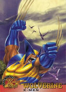 James Howlett (Earth-616) from X-Men (Trading Cards) 1996 Set 0001