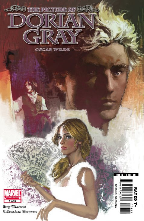 Marvel Illustrated: The Picture of Dorian Gray Vol 1