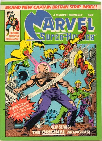 Marvel Super-Heroes (UK) Vol 1 378