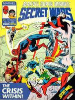 Marvel Super Heroes Secret Wars (UK) Vol 1 4