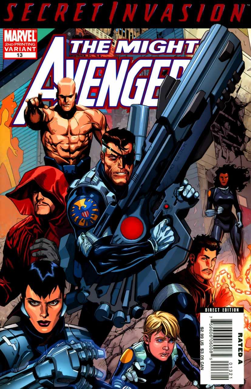 Mighty Avengers Vol 1 13 Second Printing Variant.jpg