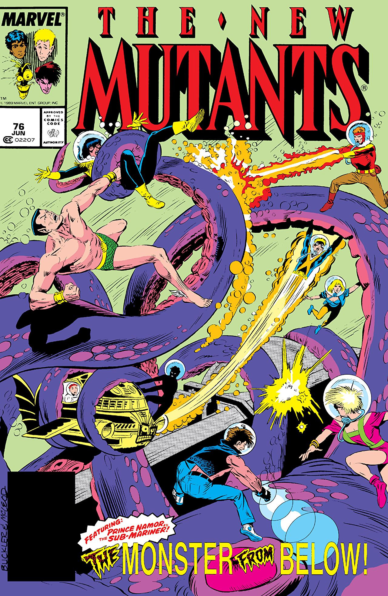New Mutants Vol 1 76