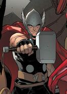 Thor Odinson (Earth-616) from Uncanny Avengers Vol 1 1 Pichelli Variant cover