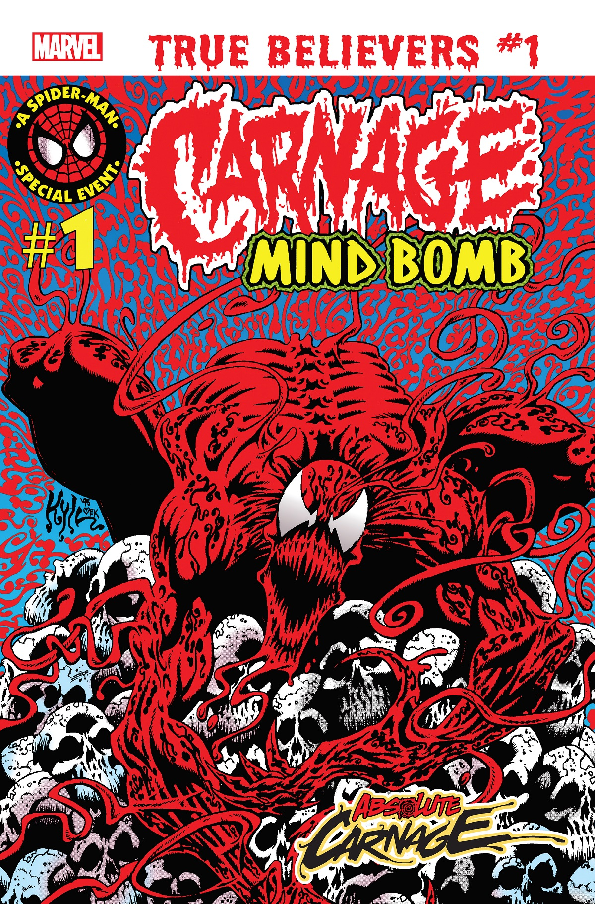 True Believers: Absolute Carnage - Mind Bomb Vol 1