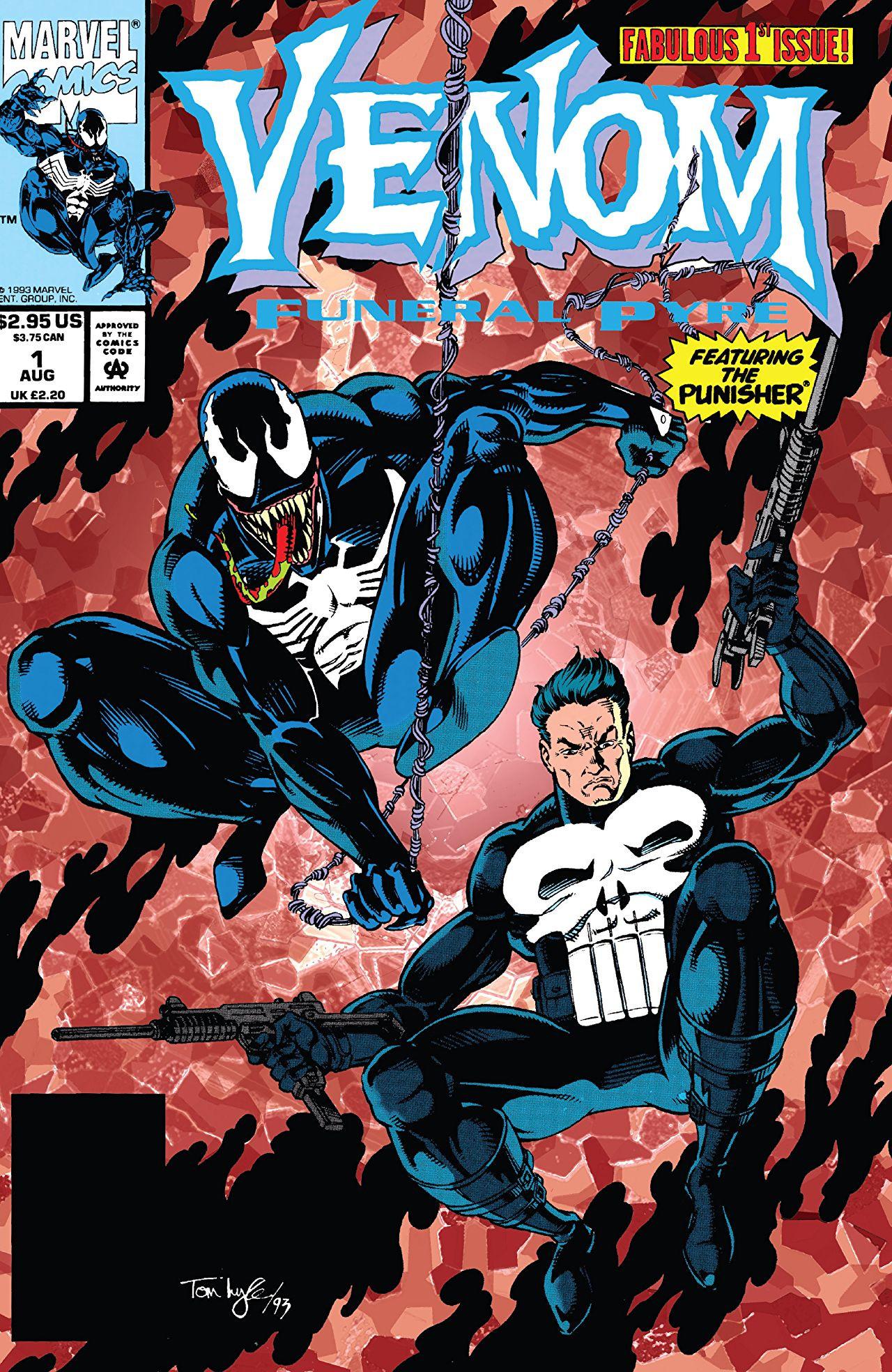 Venom: Funeral Pyre Vol 1 1